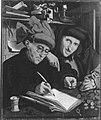 Marinus van Reymerswaele - Der Steuereinnehmer und sein Gehilfe - L 1048 - Bavarian State Painting Collections.jpg