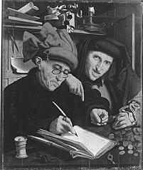 Le Collecteur d'impôts et son assistant