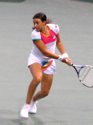 Marion Bartoli - Bartoli at the JP Morgan Chase Open, 2005