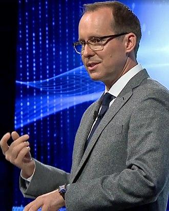 Mark Spitznagel - Spitznagel delivering keynote at Bloomberg Invest New York, 2017