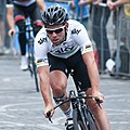 Mark Cavendish, Tour de France 2012 warm up.jpg