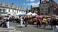 Market Stalls in the Square - geograph.org.uk - 865289.jpg