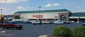 Giant Food Stores (Carlisle) - Martin's in Waynesboro, Virginia.