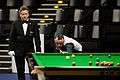 Martin Gould and Thorsten Müller at Snooker German Masters (DerHexer) 2015-02-04 03.jpg
