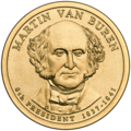 Martin Van Buren Presidential $1 Coin obverse.png