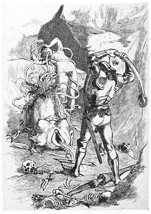 Martin van Maële - An illustration by Martin van Maële: La Grande danse macabre des vifs