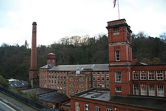 Masson Mill - Image: Masson Mill geograph.org.uk 289069