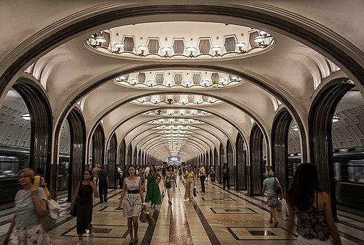 Mayakovskaya columns