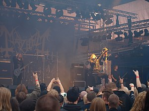 Mayhem (band) - Mayhem live in 2008