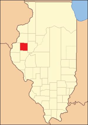 McDonough County, Illinois - Image: Mc Donough County Illinois 1826