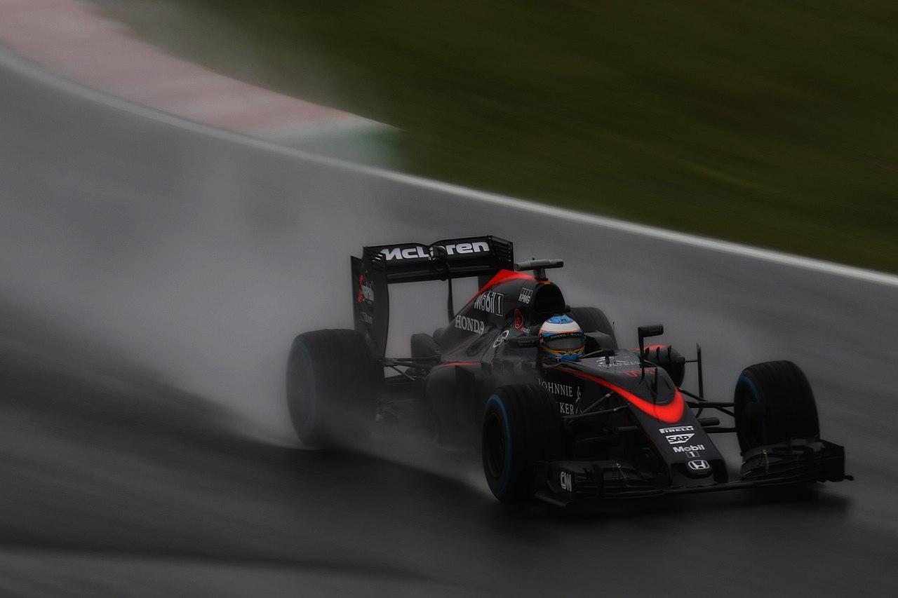 Alonso vertoefde de laatste jaren van zijn Formule 1 carrière in het middenveld.