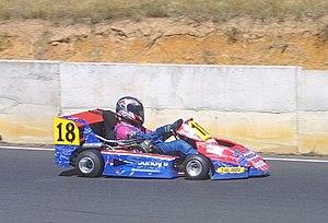 Superkart - 2007 Australian 250 cc International champion Warren McIlveen (Stockman-Honda)