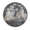 Medalj slagen med anledning av drottning Victorias kröning 28 juni 1838 - Skoklosters slott - 110781.tif