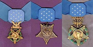 Army, Navy/Marine Corps/Coast Guard, Air Force Medaille