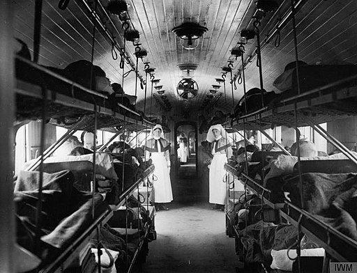Medicine during the First World War- Medical Transport Q33447