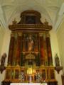 Medina del Campo. San José altar mayor..TIF