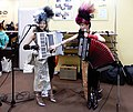 MeguRee the duo of Piano Accordion & Chromatic Button Accordion at Musical Instruments Fair Japan 2018.jpg