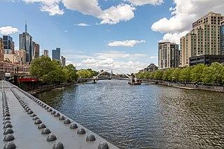 Yarra River river in Victoria, Australia