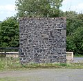 Meldon Quarry, old water tower base, Okehampton, Devon.jpg