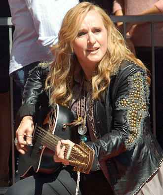 Melissa Etheridge - Etheridge performing at a September 2011 ceremony where she received a star on the Hollywood Walk of Fame
