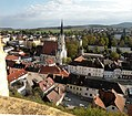 Melk.The towns parish church.jpg