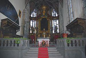 Presbyterium - Presbyterium in Mělník, Czech Republic.