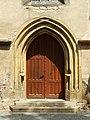 Melnik kostel sv Petra a Pavla portal.JPG