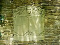 Memorial stone, St Bartholomews Church, Corsham - geograph.org.uk - 1950436.jpg