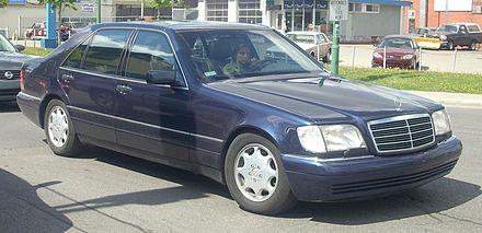 Mercedes-Benz W140 - Wikiwand