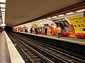 Metro Paris - Ligne 6 - station Montparnasse - Bienvenue 01.jpg