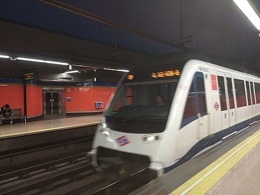Metro sur en Parque Europa (Fuenlabrada)