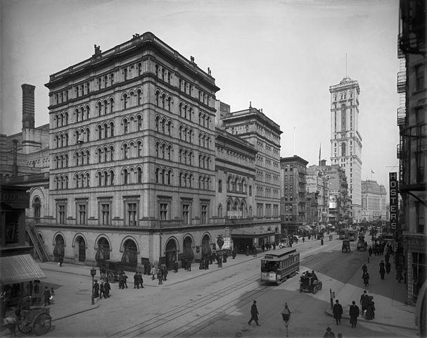 Метрополитен-опера в начале XX века