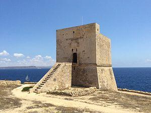 Mġarr ix-Xini Tower - Image: Mgarr ix Xini Tower