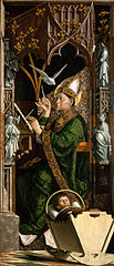 Saint Ambrose from Milan