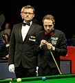 Michael Wasley and Alex Crisan at Snooker German Masters (DerHexer) 2015-02-05 01.jpg