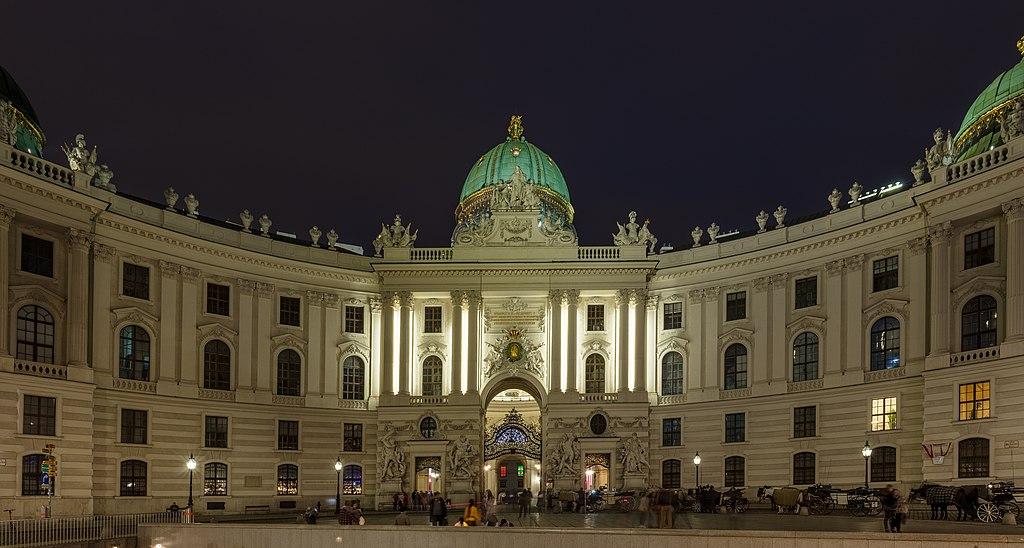 Michaelertrakt, Hofburg, Viena, Austria, 2020-01-31, DD 127-129 HDR