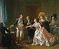 Michel Garnier Le contrat de mariage interrompu 1789.jpg