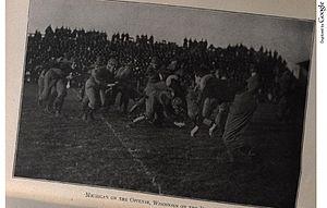 1904 Wisconsin Badgers football team - Michigan vs Wisconsin 1904
