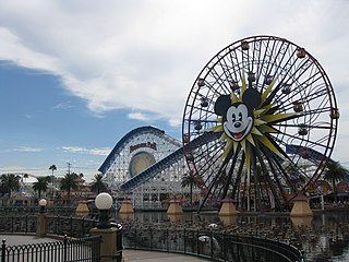 theme park in California, part of Disneyland Resort
