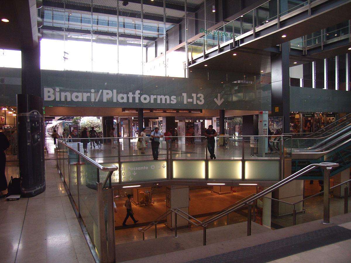 Gare de milan porta garibaldi wikip dia - Milano porta garibaldi passante mappa ...