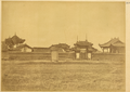 Military Temple (Wu Miao), where Warlike Deities and Famous Generals of the Past Were Venerated. Hanzhong, Shaanxi Province, China, 1875 WDL2093.png
