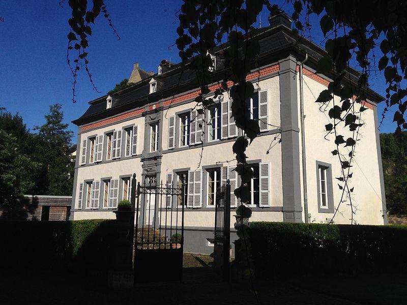Weyderter Millen erbaut 1797 vun der Koppel Jean-Baptiste Weydert an Elisabetha Gemen an der Fiels op 17, rue de Medernach