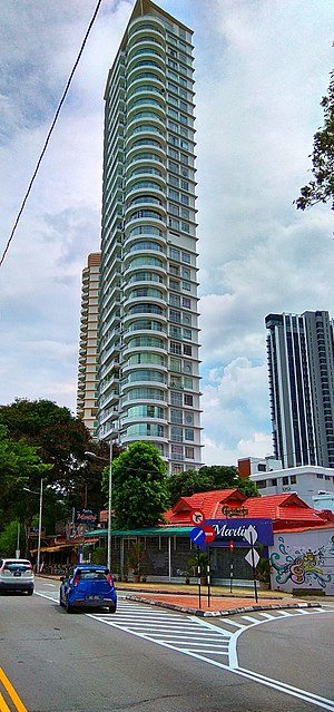 Millennium Tower (Penang) - Image: Millennium Tower, George Town, Penang