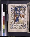 Miniature of mass with Christ and instruments of crucifixion. Border design (NYPL b12455533-426198).tif