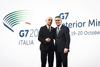 Thomas de Maizière - Thomas de Maizière with his Italian counterpart Marco Minniti, 2017