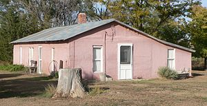 Minor Sod House - Image: Minor sod house from SW 1