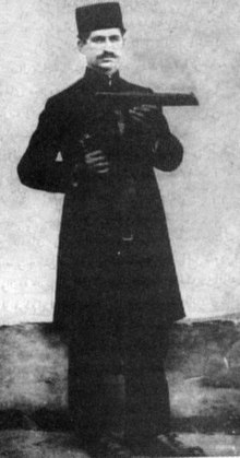 Mirza Kuchak Khan , the leader of the movement right before starting