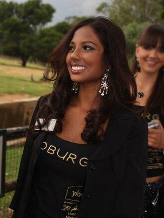Charmaine Chinapen - Image: Miss Belize 08 Charmaine Chinapen