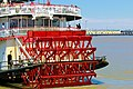 Mississippi River in Louisiana. Steamboat Natchez.jpg
