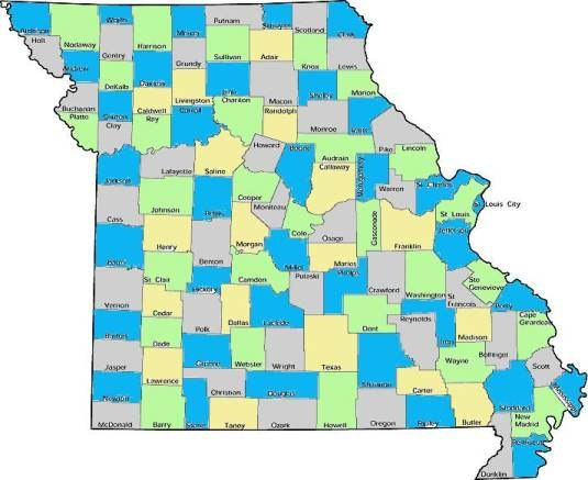 Missouri counties